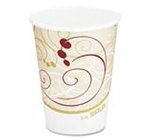 Solo Symphony Wax-Coated Cold-Drink Cups 16 oz