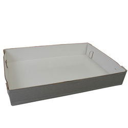 Southern Champion White 26.5 in. x 18.63 in. x 3 in.Sheet-Cake Boxes