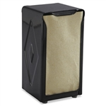 San Jamar Black 150 Capacity Tallfold Table-Top Napkin Dispensers