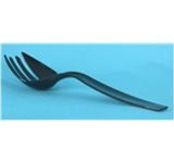 CaterLine Black Plastic Serving Forks 9 in. L Serving Utensils