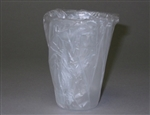 Wrapped Non-Logo Plastic Lodging Translucent Cup - 9 Oz.