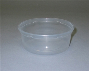Deli Clear Container - 8 Oz.