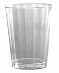 Classicware Tall Fluted Tumbler Clear - 8 Oz.