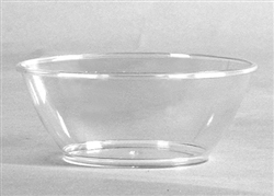Clear Scrollware 6 oz. Bowl