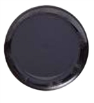 Designerware Black Round Plate - 10.25 in.