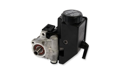 Power Steering Pump - Bottom Outlet Aluminum with Integral Reservoir