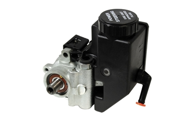Power Steering Pump - Cast Iron with Integral Reservoir