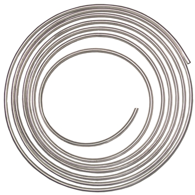 "1/2"" ALUMINUM HARD LINE NATURAL (per 25' roll)"