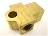 "GM Female Tee 3/8""-24 Inverted Flair - Brass"