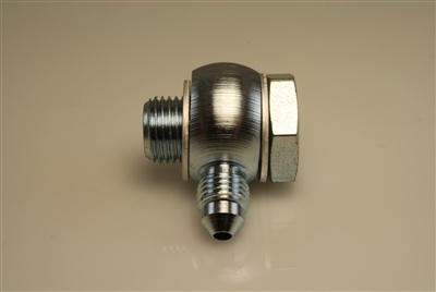 "9/16""-18 Banjo and Bolt to -3 Male AN - Steel"