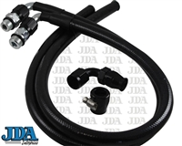 Power Steering Hose Kits - Black
