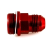 "-08 HOLLEY 7/8""-20 DUAL FEED SHORT -Red"