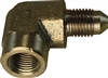 "-4 90 Degree Male AN to 1/4"" NPT Female"