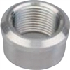 "1/4"" NPT Recessed Flange Fit - Weld in Bushing - Aluminum (each)"