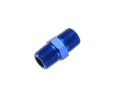 "-04 (1/4"") NPT male pipe union - blue"