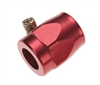 -12 anodized hose finisher - red