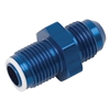 -6 Male AN to 14MM x 1.25 O-Ring Seal - GM TBI Adapter Fitting -Blue (each)