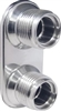 2-Way - Streamline - (10-10 male O-ring) - Polished