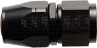 -16 Straight Hose End to -12 Nut - Aluminum - Black Anodized