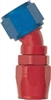 -8 30 Double Swivel Hose End to -10 Nut - Aluminum