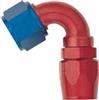 -08 120 Deg Double Swivel Hose End - Aluminum