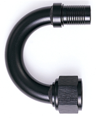 -04 180 Degree HS-79 Hose End - Aluminum
