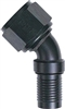 -08 60 Degree HS-79 Hose End - Aluminum