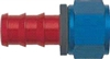 -06 Straight Push-On Hose End - Aluminum