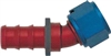-12 30* Deg Push-On Hose End - Aluminum