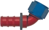 -04 60* Deg Push-On Hose End - Aluminum