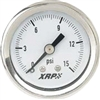 0-30 PSI Liquid Filled Pressure Gauge