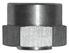 "1/4"" NPT Raised Surface Fit - Weld in Bushing - Aluminum (each)"
