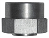 "3/8"" NPT Raised Surface Fit - Weld in Bushing - Aluminum (each)"