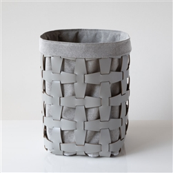 Hook Basket Light Grey, Tall