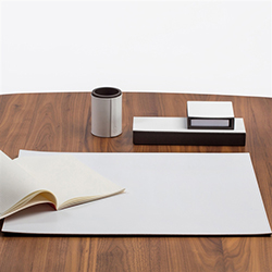 Pinetti Desk Pad A-White
