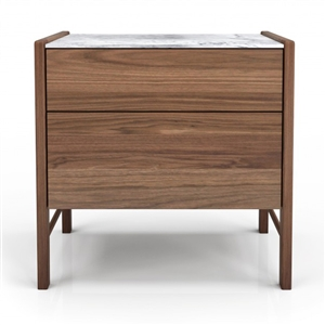 Frida 2 Drawer Nightstand