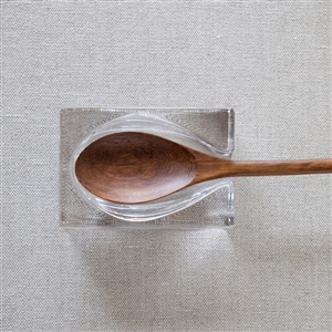 Glass Spoon Rest