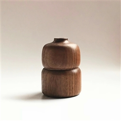 Walnut Bud Vase