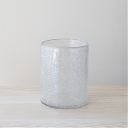 Clear Bubble Vase