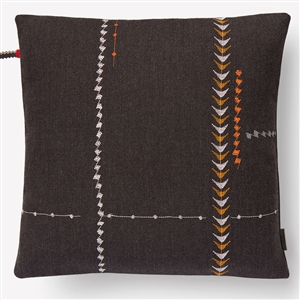 E Borders Pillow