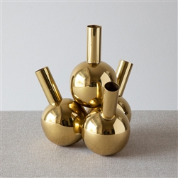 Bottle Vases Brass