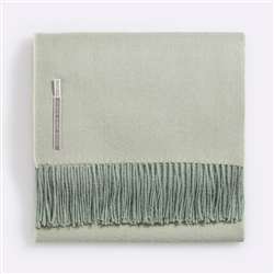 Classic Throw Herringbone Sage
