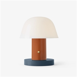 Setago Table Lamp Rust & Thunder