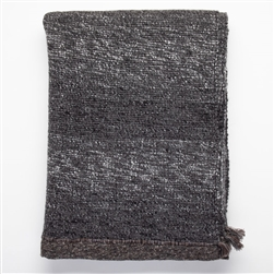 AS -Black Suede Throw