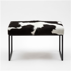 Cube Hide Bench Black Speckle