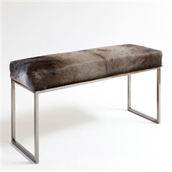 Cube Hide Wildebeest Bench