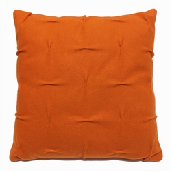 wool draped pillows beige grey rose orange