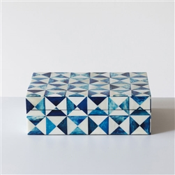 Blue Pyramid Box