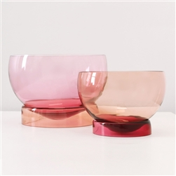 View Bowls in Pink Palette