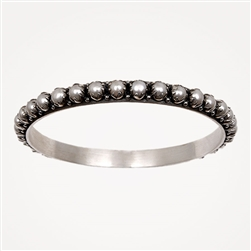 H Tulip Pearl Bangle